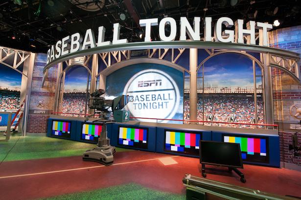 2011 --  Baseball Tonight Set Reconstruction