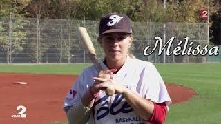Mélissa Mayeux, la jeune prodige du base-ball